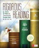 Rigorous Reading 5 Access Points for Comprehending Complex Texts  2013 edition cover