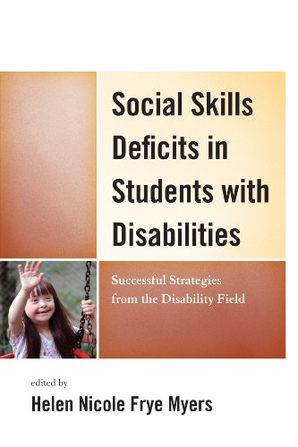 Social Skills Deficits in Students with Disabilities  N/A edition cover