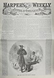 Harper's Weekly January 10 1863  N/A 9781557097132 Front Cover