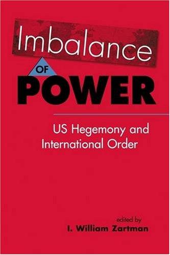 Imbalance of Power US Hegemony and International Order  2009 edition cover