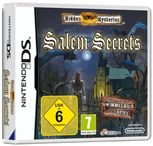 Hidden Mysteries: Salem Secrets (NDS) Nintendo DS artwork