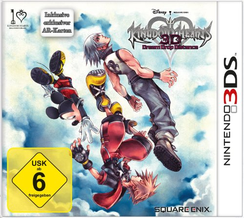 Kingdom Hearts 3D: Dream Drop Distance Nintendo 3DS artwork