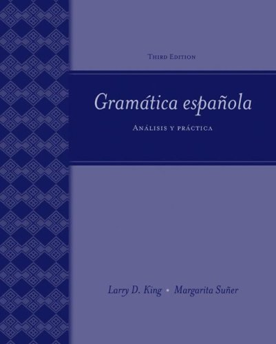 Gram�tica Espa�ola An�lisis y Pr�ctica 3rd 2008 (Revised) edition cover