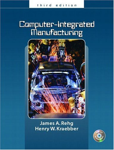 Computer Integrated Manufacturing  3rd 2005 edition cover
