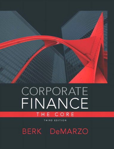 Corporate Finance The Core Plus NEW MyFinanceLab with Pearson EText --- Access Card Package 3rd 2014 edition cover