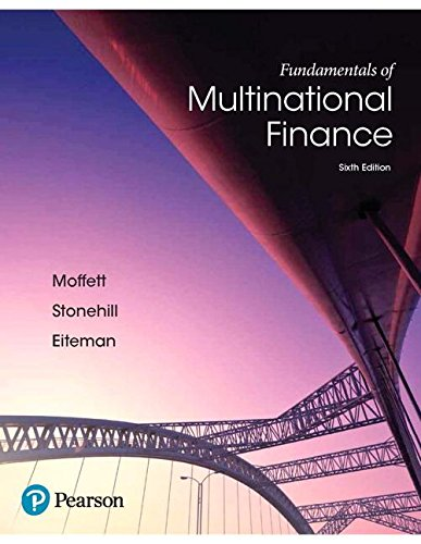 Fundamentals of Multinational Finance  6th 2018 9780134472133 Front Cover