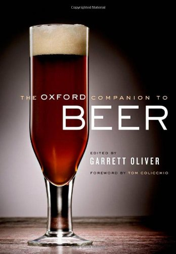 Oxford Companion to Beer   2011 edition cover