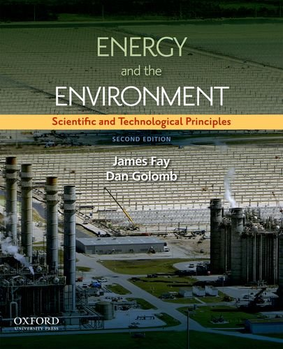 Energy and the Environment Scientific and Technological Principles 2nd 2012 edition cover