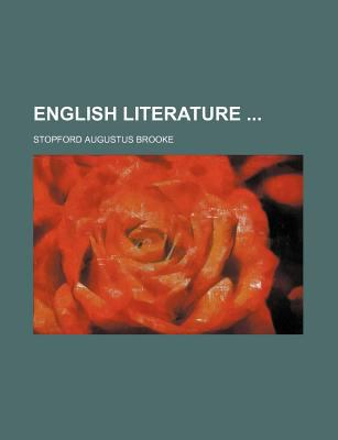 English Literature  N/A edition cover