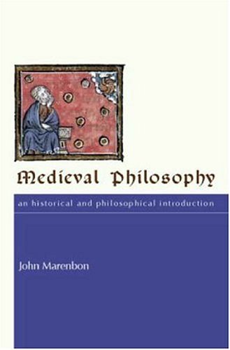 Medieval Philosophy An Historical and Philosophical Introduction  2006 edition cover