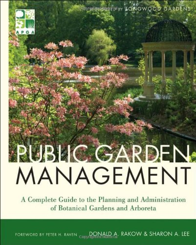 Public Garden Management  2nd 2011 edition cover