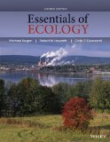 Essentials of Ecology  4th 2014 edition cover