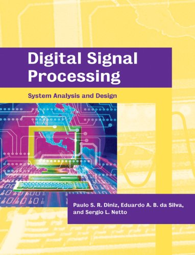 Digital Signal Processing System Analysis and Design  2006 9780521025133 Front Cover