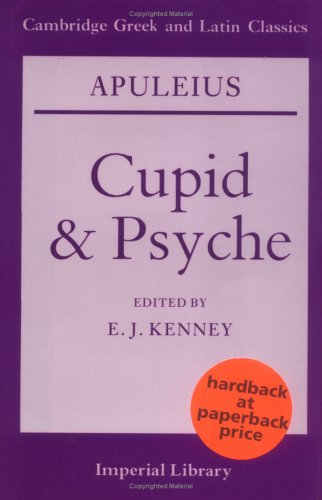 Apuleius Cupid and Psyche  1990 9780521278133 Front Cover