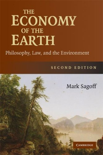 Economy of the Earth Philosophy, Law, and the Environment 2nd 2008 (Revised) edition cover
