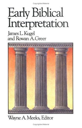 Early Biblical Interpretation  Reprint edition cover