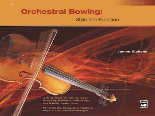 Orchestral Bowing -- Style and Function Textbook  2004 edition cover