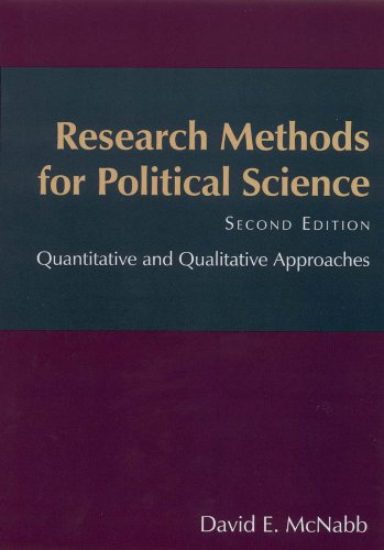 Research Methods for Political Science Quantitative and Qualitative Approaches 2nd 2010 (Revised) edition cover