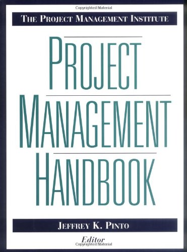 Project Management Institute Project Management Handbook   1998 edition cover