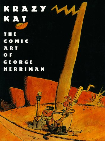Krazy Kat The Art of George Herriman N/A 9780810923133 Front Cover