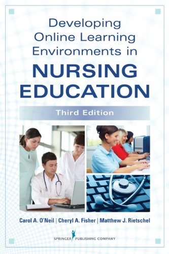 Developing Online Learning Environments in Nursing Education  3rd 2014 edition cover
