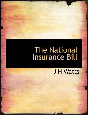 National Insurance Bill N/A 9781115348133 Front Cover