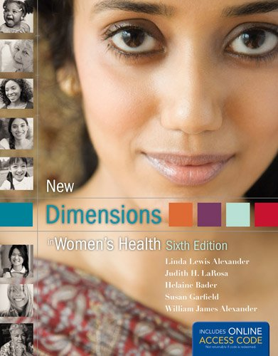 New Dimensions in Women's Health 6th 2013 9781449698133 Front Cover