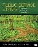 Public Service Ethics:   2014 edition cover