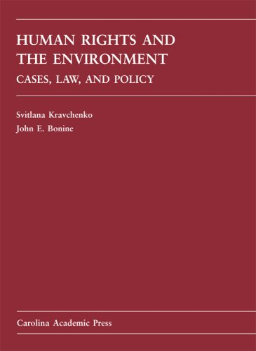 Human Rights and the Environment   2008 edition cover