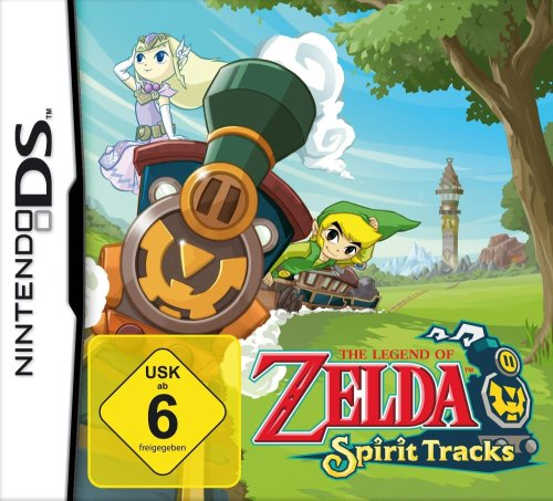 The Legend of Zelda: Spirit Tracks Nintendo DS artwork