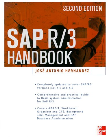 SAP R/3 Administrator's Handbook  2nd 2000 9780071354134 Front Cover