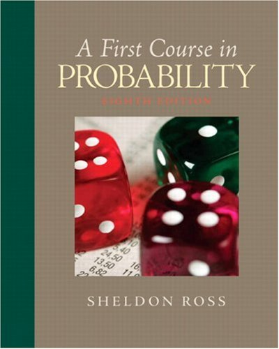 First Course in Probability  8th 2010 edition cover