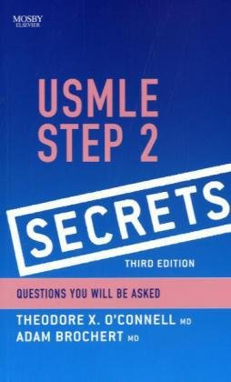 USMLE Step 2 Secrets  3rd 2010 edition cover
