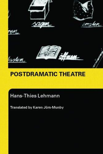 Postdramatic Theatre   2006 edition cover