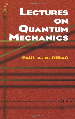 Lectures on Quantum Mechanics   2001 9780486417134 Front Cover