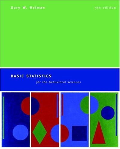 Basic Statistics for the Behavioral Sciences  5th 2006 edition cover