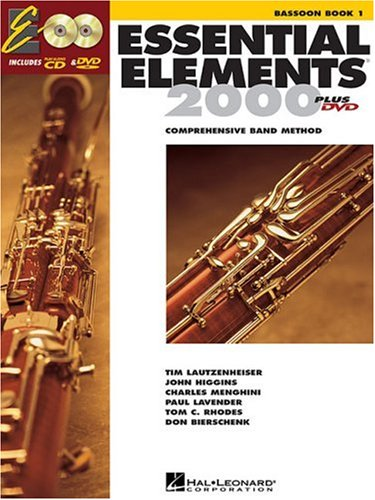 Essential Elements for Band Bassoon  2004 edition cover