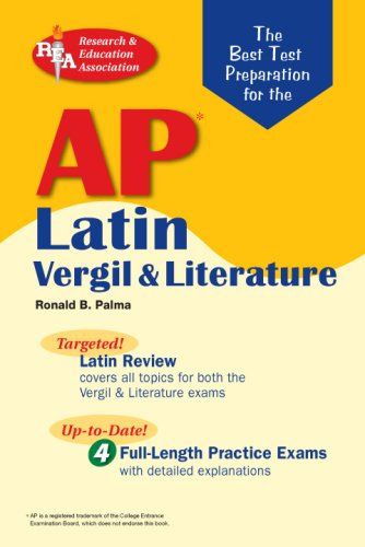 Best Test Preparation for the AP Latin Vergil and Literature N/A edition cover