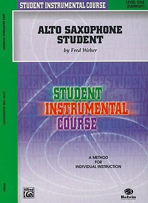Student Instrumental Course Alto Saxophone Student Level I  2001 edition cover
