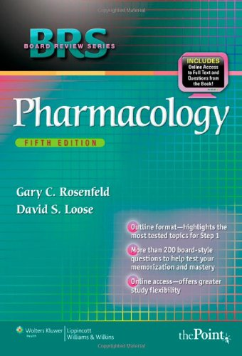 BRS Pharmacology  5th 2010 (Revised) edition cover