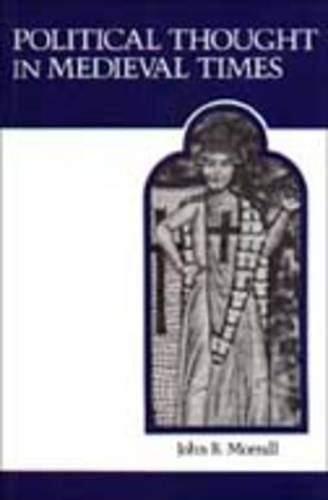 Political Thought in Medieval Times  7th 1980 (Reprint) edition cover