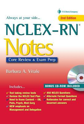 NCLEX-RN Notes Content Review and Exam Prep 2nd (Revised) edition cover