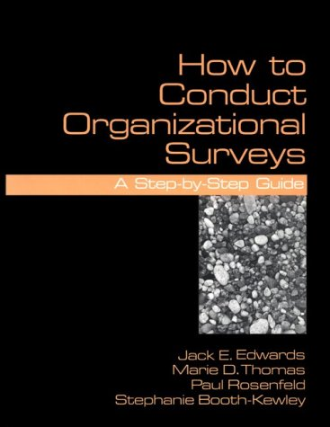 How to Conduct Organizational Surveys   1996 edition cover