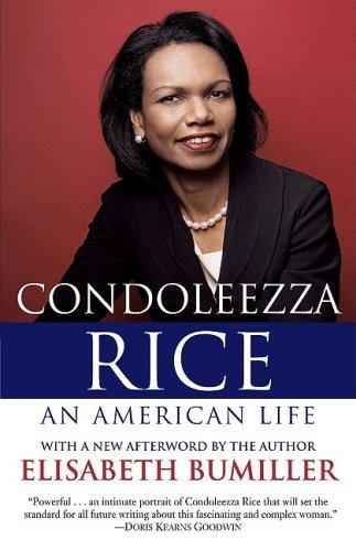 Condoleezza Rice: an American Life A Biography  2007 edition cover