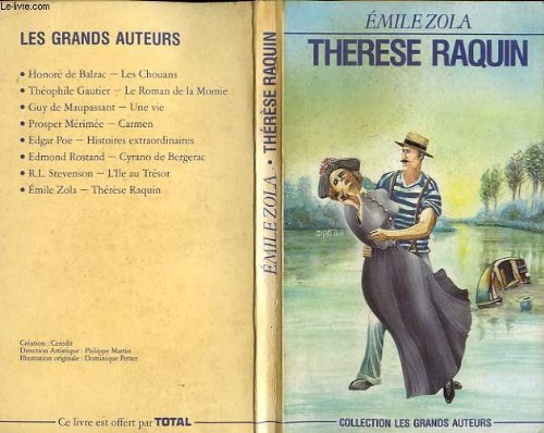 Th�r�se Raquin  N/A 9780948230134 Front Cover