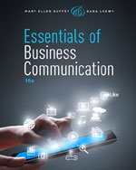 ESSENTIALS OF BUSINESS.COMMUN.>ANNOT<   N/A edition cover