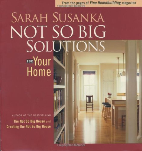 Not So Big Solutions for Your Home   2002 edition cover