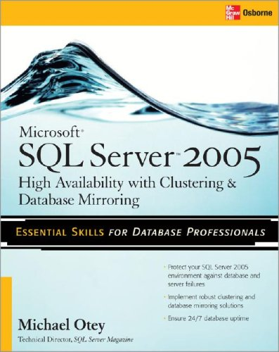 Microsoft SQL Server 2008 High Availability with Clustering & Database Mirroring   2010 9780071498135 Front Cover