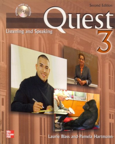 Quest Listening and Speaking, 2nd Edition - Level 3 (Low Advanced to Advanced) - Audio CDs (8) 2nd 2007 9780073267135 Front Cover