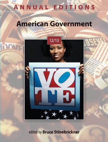 American Government 12/13  42nd 2013 9780078051135 Front Cover